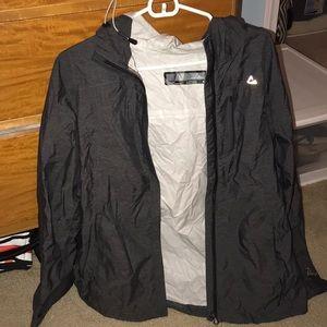 Grey Paradox Size small rain jacket